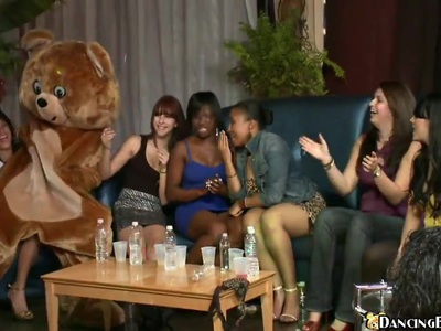There are many parties, but Bear Party is special for ladies