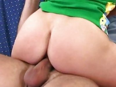 Whore receives nailed nicely