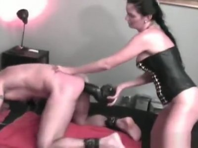 Mean Headmistress Ties Up Villein And Plays With His Ass