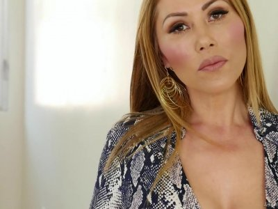 Mature Chinese pornstar with massive big tits Kianna Dior