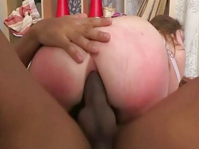 Hole hole of pretty chick is stuffed by huge dick
